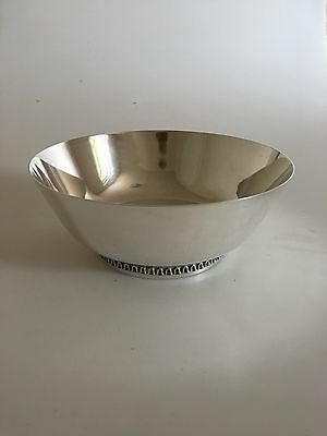 Georg Jensen Sterling Silver Bowl by Sigvard Bernadotte #904 with old marks