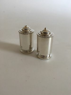 Georg Jensen Sterling Silver Salt and Pepper Shakers