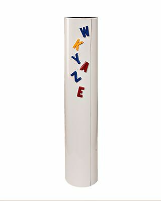 """Double Magnetized Dry Erase White Roll - 24"""" X 25' - Write-On/Wipe-Off"""
