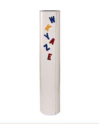"""Double Magnetized Dry Erase White Roll - 24"""" X 10' - Write-On/Wipe-Off"""