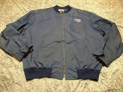 PEPSI COLA ~ Vintage 70s 80s ~ Soda Delivery Driver Jacket w Thinsulate® Lining