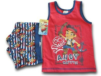 JAKE & THE NEVER LAND PIRATES Singlet & Trunk Set ~ Size 3/4 & 6/8 ~ NEW