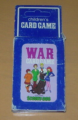 Scooby Doo  War Card Game  Sealed Pack Of Cards 1979  Hoyle  Hanna Barbera