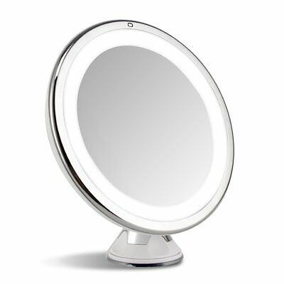 New LED Lighted Touch Control Makeup Mirror Beauty Cosmetic Mirror 7X Magnifier