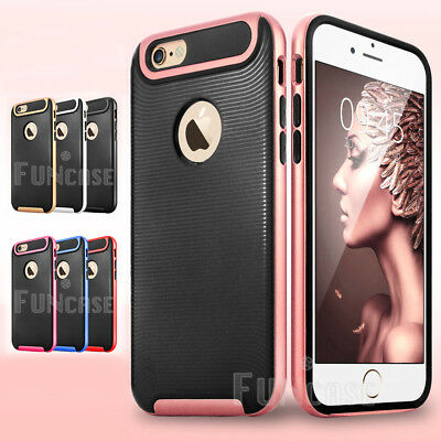Shockproof Bumper Protective Case Cover For Apple Iphone 6S, 6S Plus, 5 5S