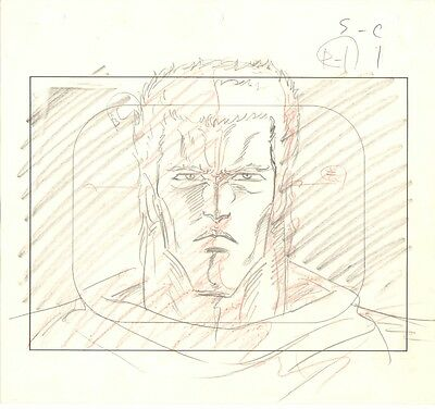 Anime Genga not Cel Fist of the North Star #8
