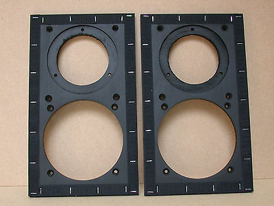 Replacement LS3/5a Baffle Pair for use with  T27 & B110