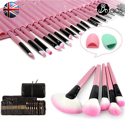 Professional  32PCS Make Up Brushes Set Cosmetic Makeup Brush Tool Pouch Bag