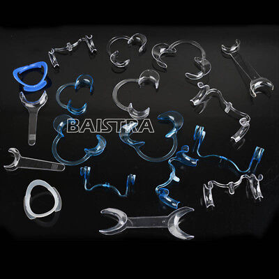 18Pcs Dental Intra Oral Mouth Opener Lip Retractor Cheek Expanders All Types New