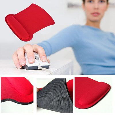 Anti-Slip Mouse Mat Pad With Comfort Gel Foam Rest Wrist Support For PC Laptop