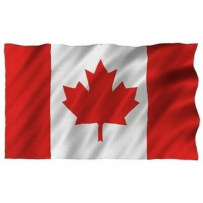 Canadian 5ft x 3ft Large Fabric Flag Olympics, Sports & Patriotic Events