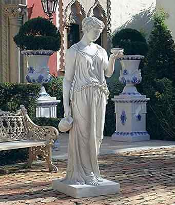 Hebe The Goddess Of Youth Bonded Marble Resin Statue Garden Sculpture Greek Art
