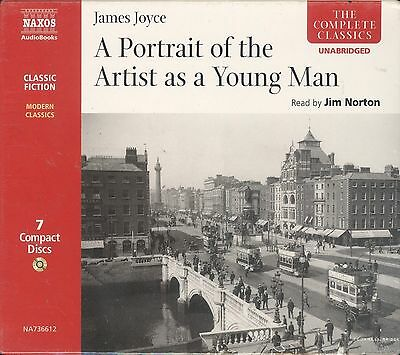 James Joyce A Portrait Of The Artist As A Young Man audiobook CD NEW 7-disc