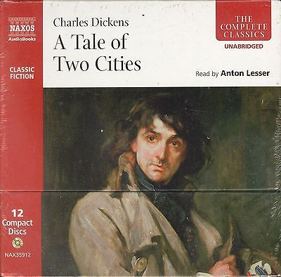 Charles Dickens A Tale Of Two Cities audio-CD audiobook box NEW Anton Lesser