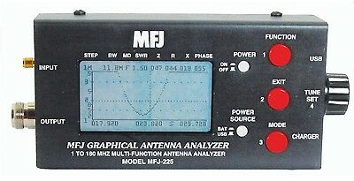 MFJ-225 Antenna Analyser with Graphic Display 1-180MHz