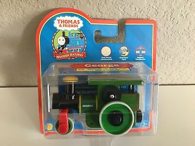 Thomas' friend- GEORGE the STEAMROLLER - New in pkg- retired FREE ship from USA