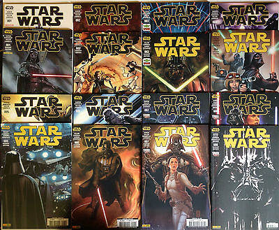 LOT COMICS STAR WARS PANINI COFFRET et EDITIONS COLLECTOR  tee-shirt