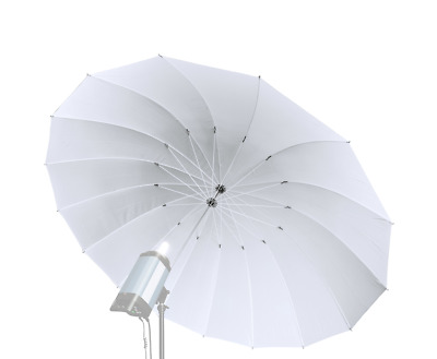 Bresser SM-08 Jumbo Transucent White Umbrella 180cm