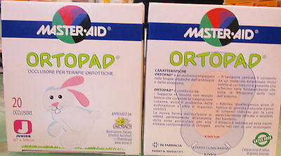 Ortopad Masteraid junior occlusore per terapie ortottiche Orthoptic Eye patch