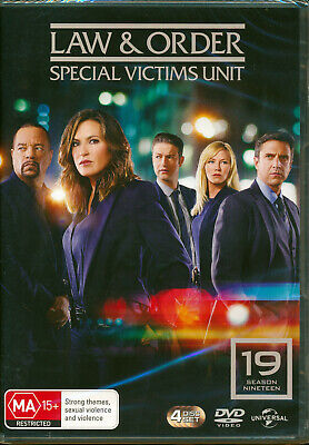 Law And Order Special Victims Unit Season Nineteen 19 DVD NEW