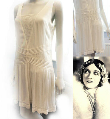 1920s Flapper Charleston Downton Gatsby Dress UK 6 8 10 12 14 16 NEW €49,99