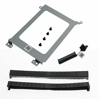Original New HDD Cable & Caddy & Rubber Rail for Dell XPS15 9550 Laptop XDYGX