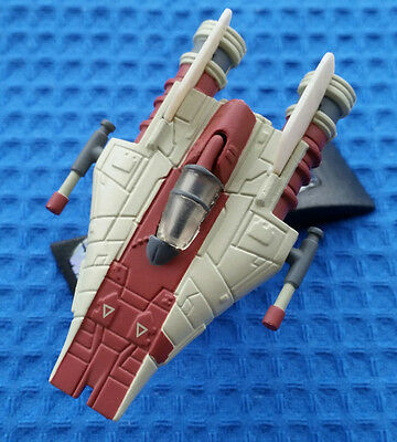 STAR WARS TITANIUM - Rebel RED A-WING Rebel Interceptor - LOSE