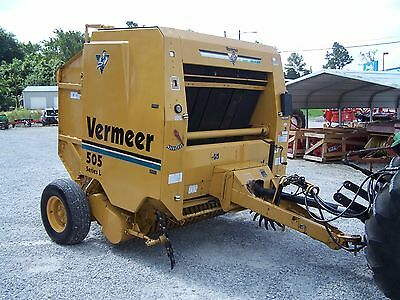 Nice Vermeer 505 Series L Round Baler size 5x5, CAN SHIP @ $1.85 loaded mile