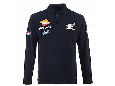 Repsol Honda MoToGP Team Polo  - New Official Merchandise By Gas Jeans