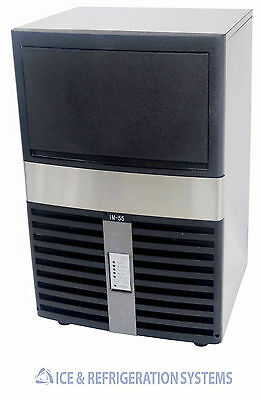 Alamo 55Lb Commercial Undercounter Ice Machine Maker Im-55As