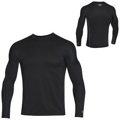 Under Armour Mens Coldgear Infrared Fitted Base Layer Top - New Ua Cgi Golf