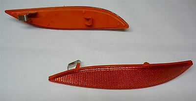 Renault Megane MK3 rear bumper reflector light lens / left side