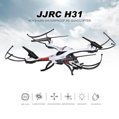 JJRC H31 2.4G 4CH 6-Axis Gyro Drone With One Key Return RC Quadcopter White S9Z0