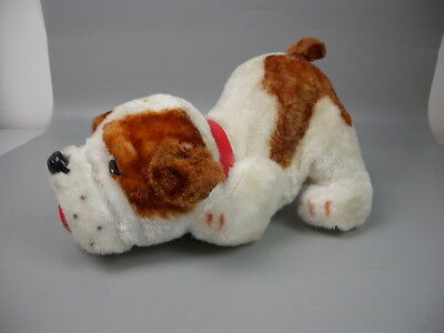 Vintage Sniffing Bulldog Battery Operated Toy Alps Japan 1960s