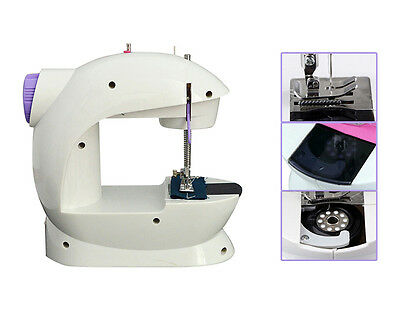 NEW 110/220V Portable Mini Electric Sewing Machine Household Desktop HighQuality