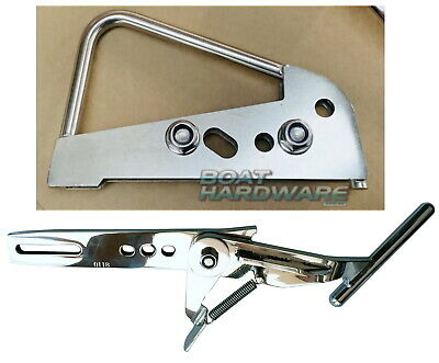 Aluminium Boat Latch Catch up to 6.5m Launch Retrieve Trailer Buddy *SEE VIDEO*