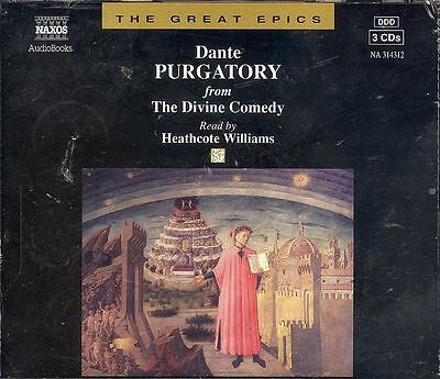 Dante The Divine Comedy Purgatory Naxos audio book CD NEW
