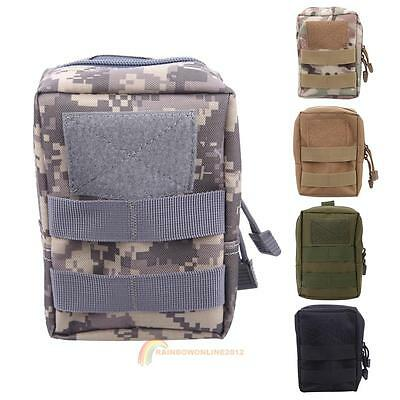 Tactical Molle Belt Waist Pack Bag Military Waist Fanny Pack Pouch Phone Pocket