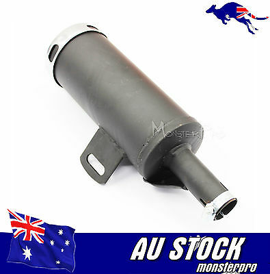 25mm Muffler Exhaust Pipe 50cc 110cc 125cc 150cc PIT PRO Quad Bike Dirt ATV