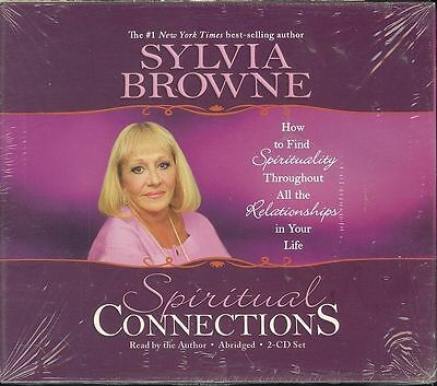 Sylvia Browne Spiritual Connections 2-CD audio book NEW