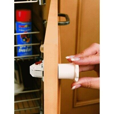 Tot-Lok Magnetic Cabinet & Drawer Lock Kit,No TL-13401-R,  Rev A Shelf, 3PK
