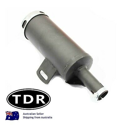 25mm Muffler Exhaust Pipe 90cc 110cc 125cc PIT Quad Dirt Bike ATV Dune Buggy