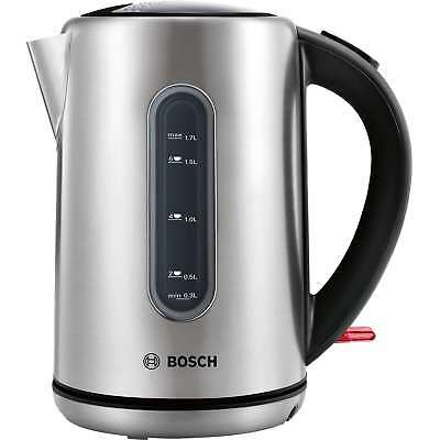 Bosch TWK7901GB 3kW 1.7 Litres Traditional Kettle in Stainless Steel New