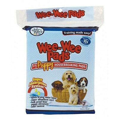 Four Paws Puppy Toilet Training Pads Large Wee Mats With Odour Control Dog & Cat