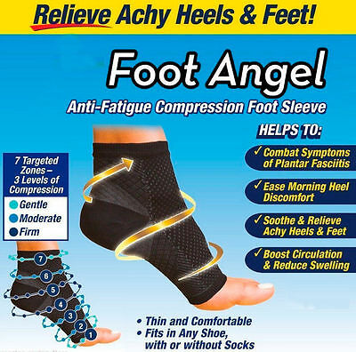 Foot angel Compression Socks sleeve Sore Achy Swelling Ankle Plantar Fasciitis