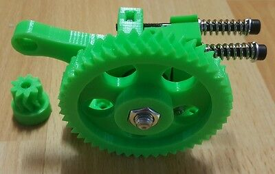 Green Greg Wade Reloaded Extruder 3D Printer J-Head E3D 1.75 3D850 3mm Hobbed