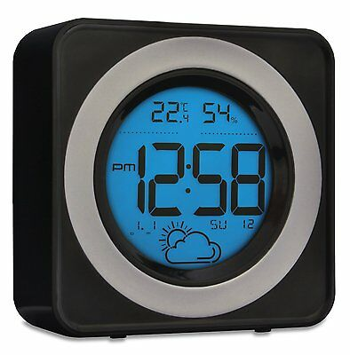 Acctim Valencia Weather Station Radio Controlled Temperature Snooze LCD 71563
