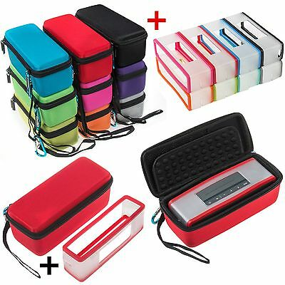 Stockage Housse Coques Cover Pour Bose-Soundlink Mini I & II 2 Bluetooth Speaker