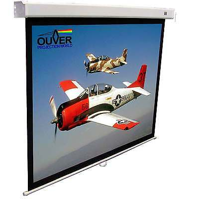 "Pantalla Proyeccion Manual Ouver Convert New 120"" 244 4:3 Bmm"