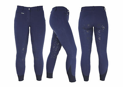 HyPERFORMANCE Derby Silicon Full Seat Ladies Horse Riding Breeches/Jodhpurs